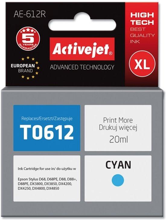 ActiveJet AE-612R inktcartridge Compatible Cyaan 1 stuk(s)