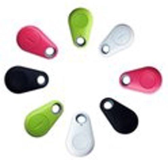 Bluetooth GPS Tracker - GPS Tracer Met Voicerecorder - Sleutelhanger Tracking Volg Systeem Voor Kind / Hond / Kat / Baggage Inclusief Alarmfunctie - sleutelvinder / Key Finder - willekeurige kleur