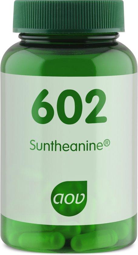 AOV 602 Suntheanine - 30 Capsules - 200 mg - Voedingssupplement