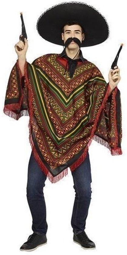 Voordelige Mexicaanse poncho