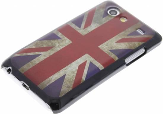 British Design Cru Couverture Étui Rigide Pour Samsung Galaxy S Advance I9070 WZOvxxnc