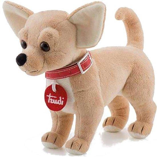 1c5b7e65e77086 bol.com | Trudi Knuffel Hond Chihuahua 20 Cm, Trudi | Speelgoed