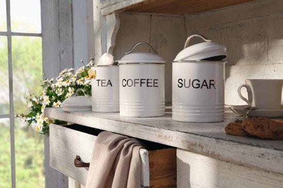 Wonderbaar bol.com   Landelijke suiker,thee en koffie blikken UH-72