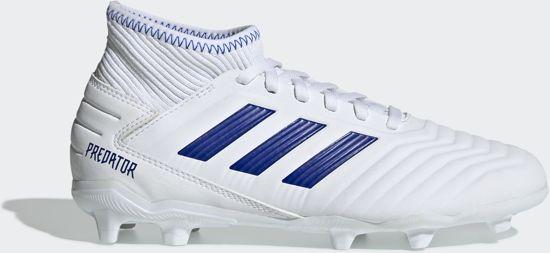 adidas wit blauw kind
