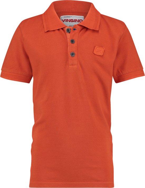 b021eaf70748ea bol.com | Vingino Jongens Poloshirt - Oranje - Maat 104