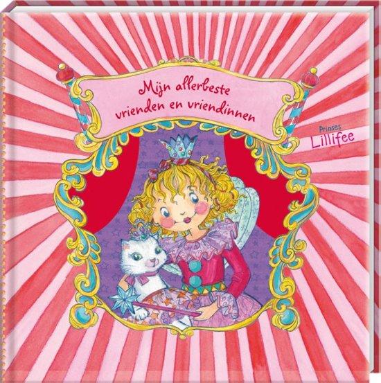 Prinses Lillifee Vriendenboek - Mijn Allerbeste vrienden en vriendinnen - Roze - Hardcover - 21 x 17,5 x 2 cm