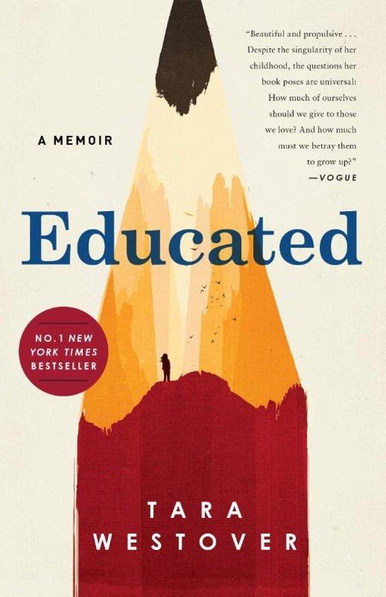 Boek cover Educated van Tara Westover (Paperback)