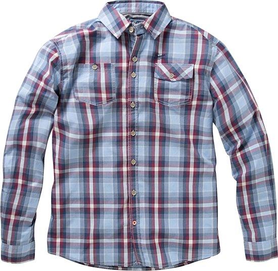Twinlife Men - Geruit Overhemd