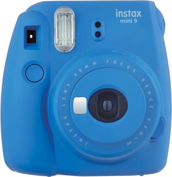 Fuji Instax mini 9 Cobalt Blue +enkelp film (10 foto's)+case
