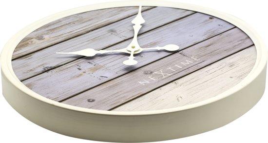 NeXtime Plank Wandklok à 50 cm