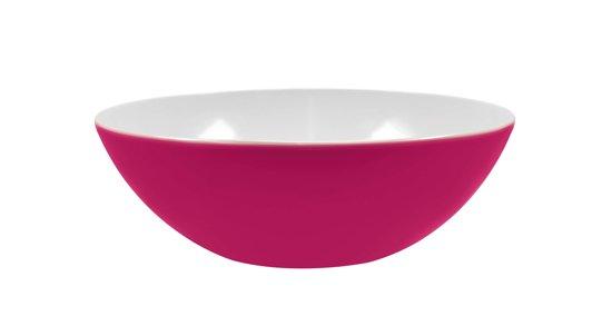 Zak!Designs Twotone Saladeschaal - Shallow - Ø 32 cm - Raspberry
