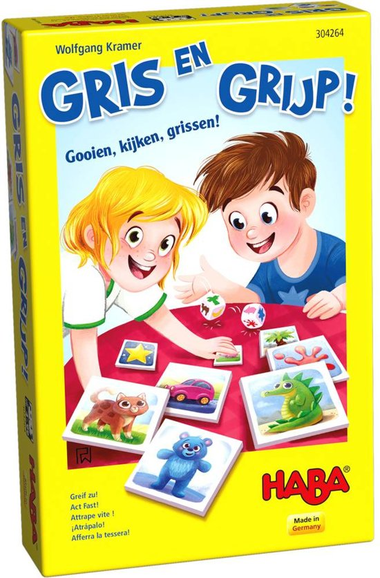 Haba - Spel - Gris en grijp - 4+