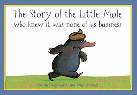 Boek cover The Story of the Little Mole - mini edition van Werner Holzwarth (Hardcover)