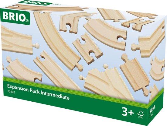 BRIO 33402 Rails Uitbreiding set