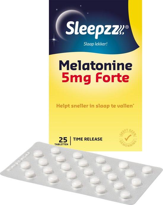 Sleepzz Melatonine 5 Mg - Slaapproduct