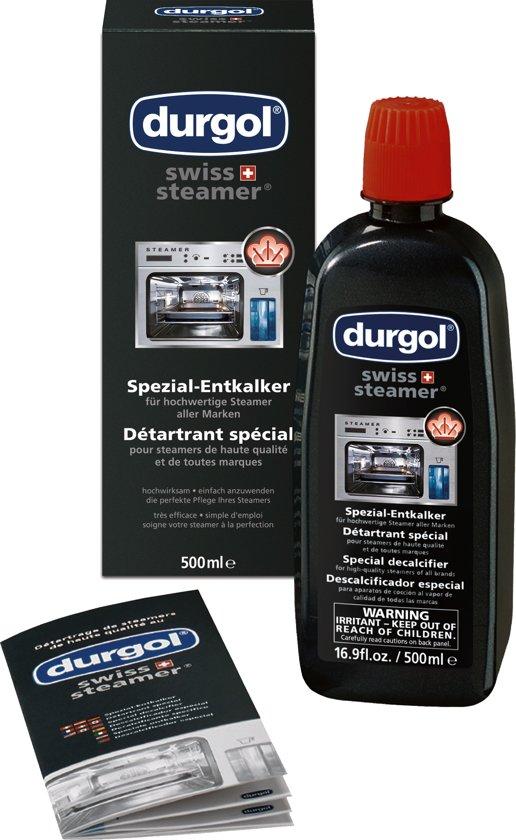 Durgol SwissSteamer Stoomkoker Ontkalker