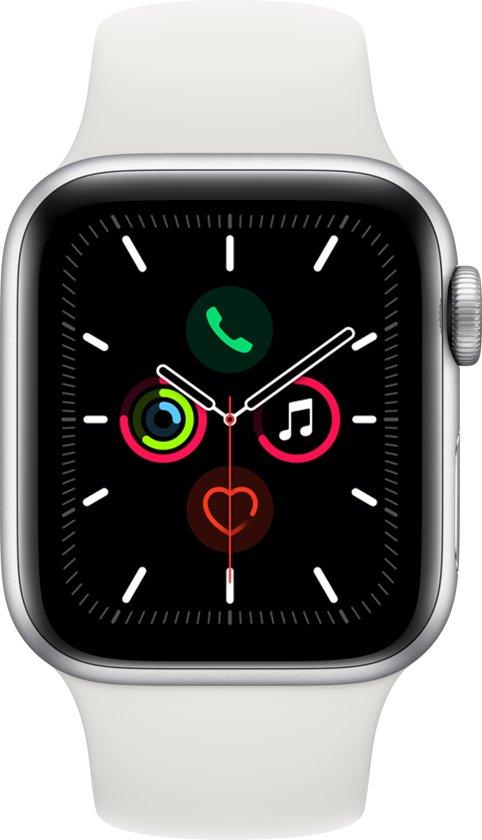 Apple Watch Series 5 - 40 mm - Wit