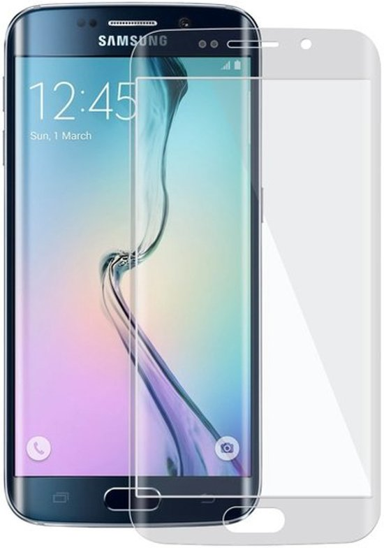 Transparent Glitter Samsung Galaxy S6 Edge Tempered Glass Screen Protector