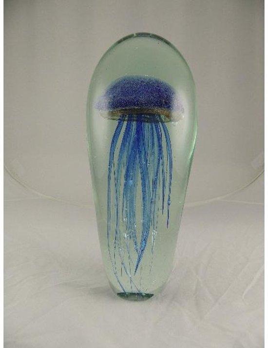 Beeld Sampaguita - glas sculptuur - Jelly Fish