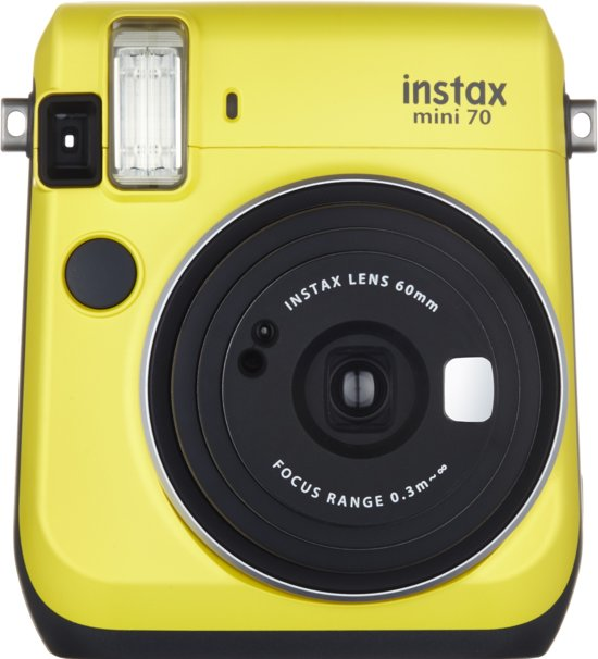 Fujifilm Instax Mini 70 - Geel