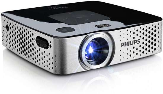 Philips PicoPix Draagbare projector PPX3417W/EU+UK, Beamer