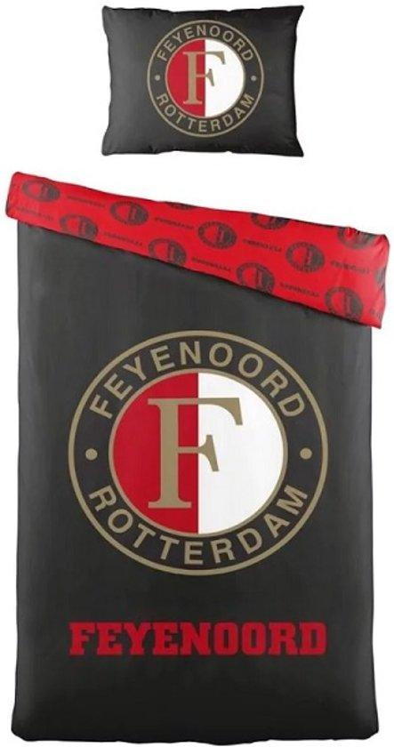 Feyenoord Dekbedovertrek 1 Persoons.Feyenoord Dekbedovertrek Eenpersoons 140 X 200