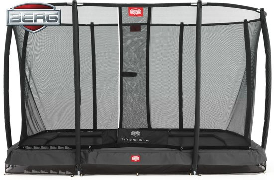BERG Inground EazyFit + Safety Net EazyFit - 330 x 220 cm - grijs