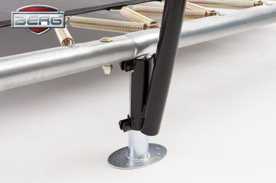 BERG EazyFit InGround Trampoline 220 x 330 cm met Veiligheidsnet Deluxe