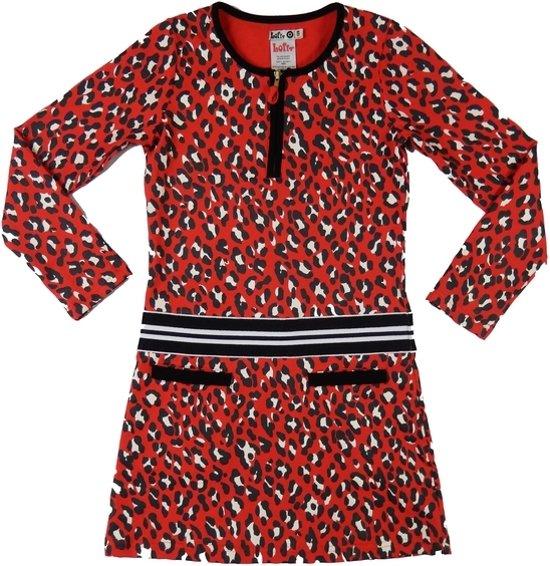 meisjes jurk rood