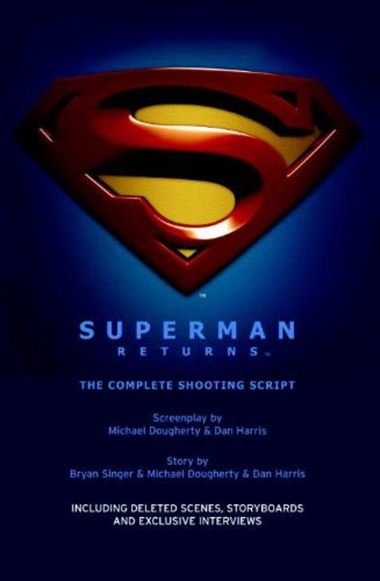 Boek cover Superman Returns van Bryan L. Singer (Hardcover)