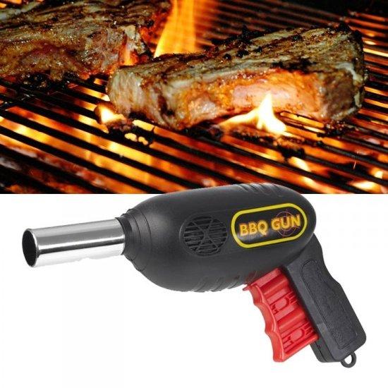 BBQ Gun - Barbecue Starter Ventilator Aanjager - Grill Blazer Aanmaker Fan