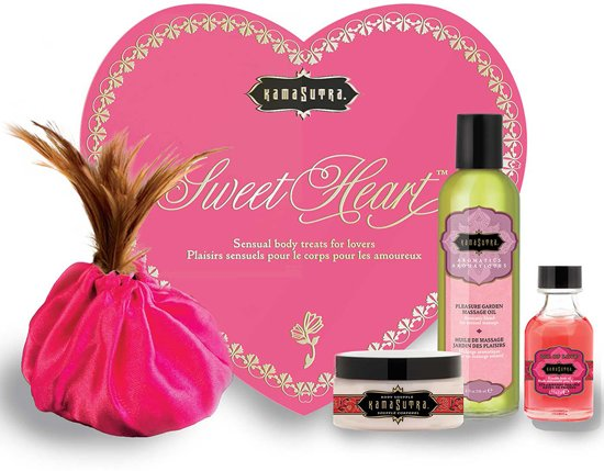 KamaSutra Sweet Heart Massageset