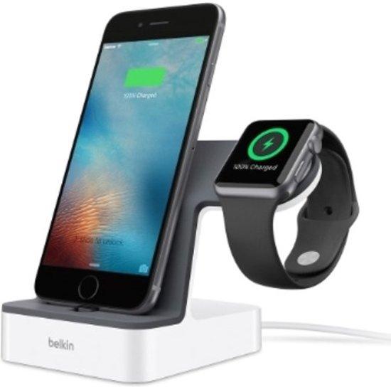 Belkin PowerHouse voor Apple Watch en iPhone dock - Wit