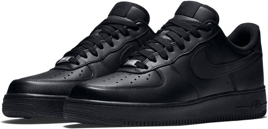 a30f8470b24 5 Heren Sneakers Zwart 45 Nike Maat '07 1 Air Force XRYYwIzq