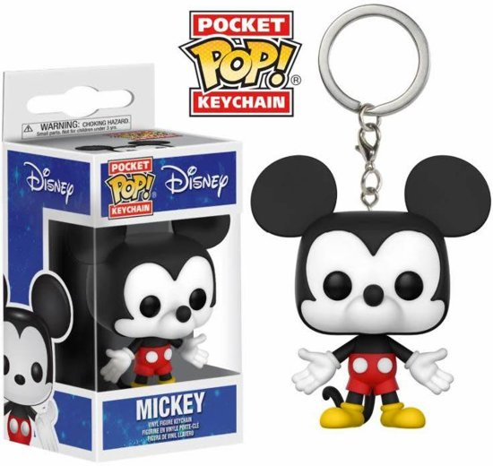 Bekend bol.com | Funko Pop! Pocket! Keychains: Mickey Mouse @EY59