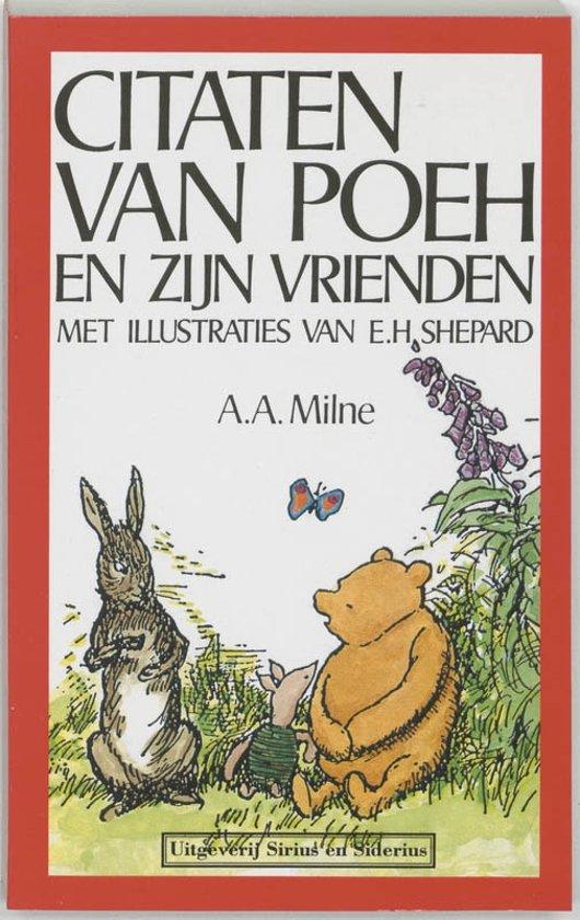 Beste Citaten Boeken : Bol citaten van poeh en zijn vrienden a milne