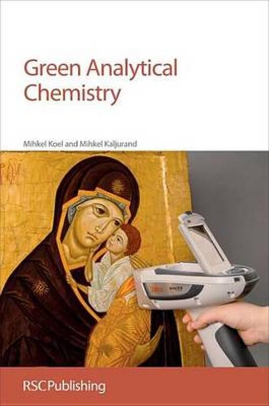 bol com | Green Analytical Chemistry (ebook), Mihkel Koel