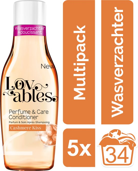 Lovables Conditioner - Cashmere Kiss - Kwartaalbox - 170 wasbeurten - wasverzachter