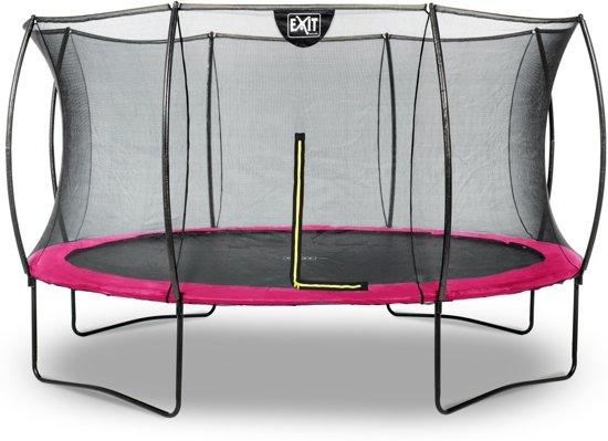 EXIT Silhouette trampoline ø366cm - roze