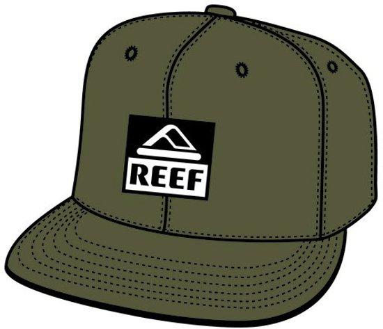 49746ed5ae2 bol.com | Reef Cap (sport) Classic Block - Heren - Olive