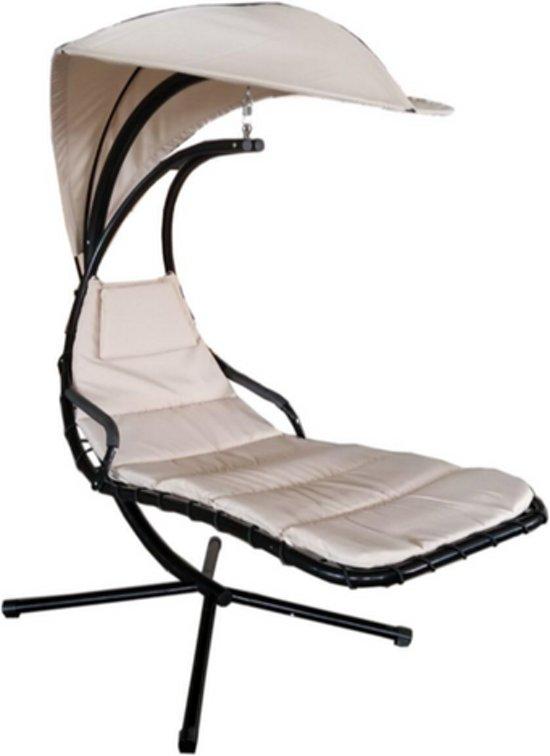 Hang Stoel Tuin.Bol Com Hangstoel Modern Lounge Creme