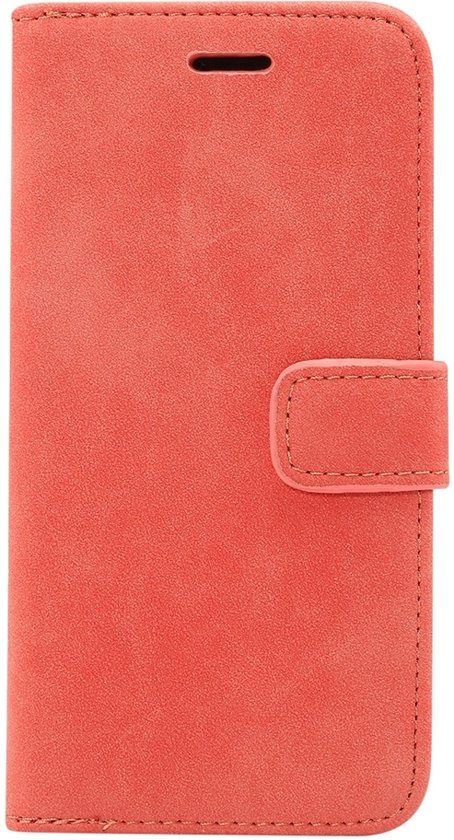 Mobigear Luxe Wallet Hoesje Rood Apple iPhone Xr