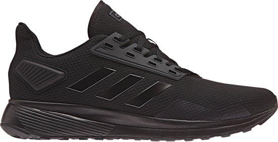 adidas Duramo 9  Sportschoenen - Maat 42 2/3 - Mannen - zwart