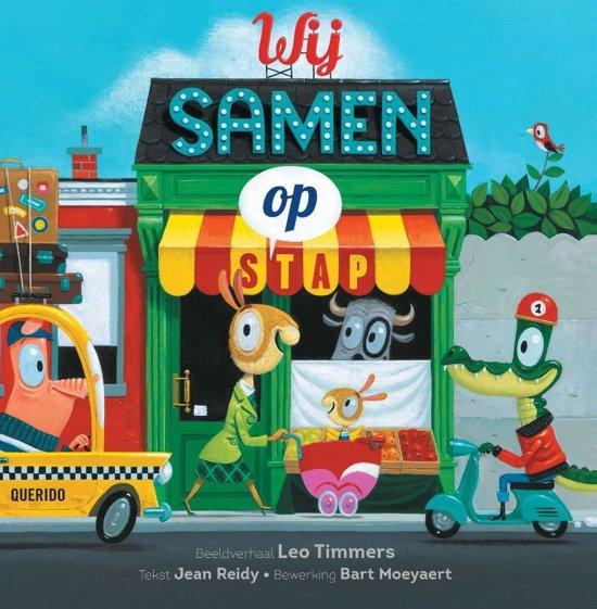 Boek cover Wij samen op stap van Leo Timmers (Hardcover)