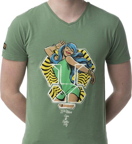 LIGER X Pin up- Limited Edition van 360 stuks - T-Shirt - Maat M