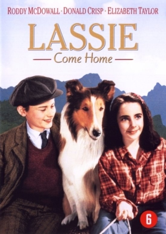Cover van de film 'Lassie Come Home'