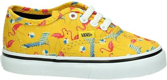 d47938100640 Vans - Authentic - Babyschoentjes - Kinderen - Maat 25 - Geel - Cyber Yellow