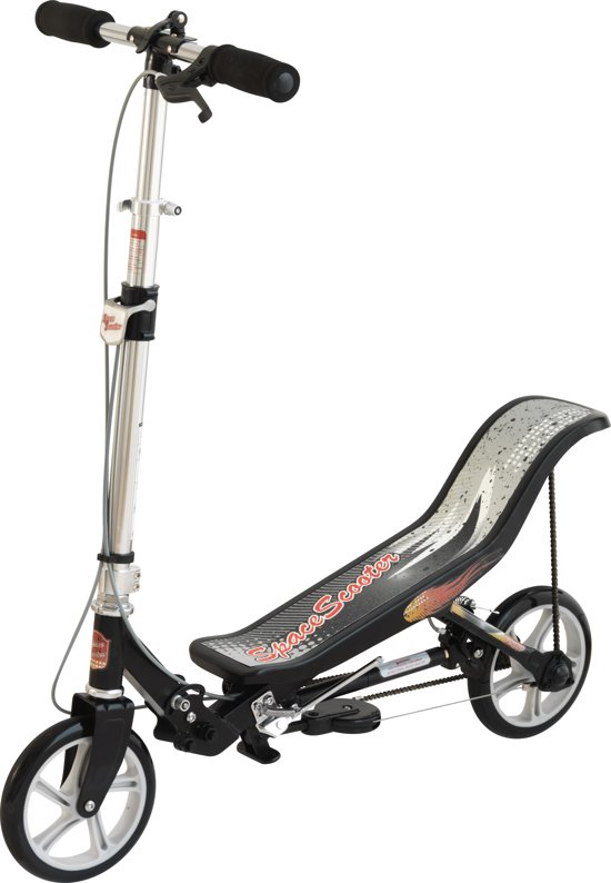 Space Scooter Step Zwart
