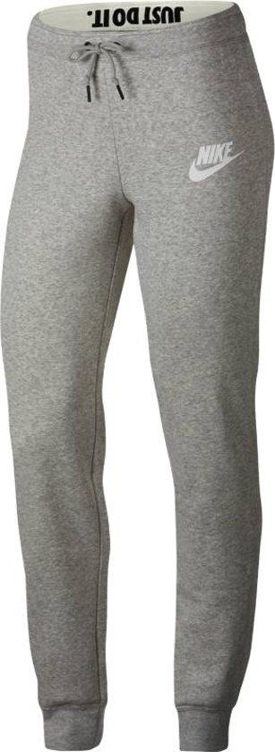 Nike Nsw Rally Pant Tight Sportlegging Dames - Grey Heather/Pale Grey/(White)