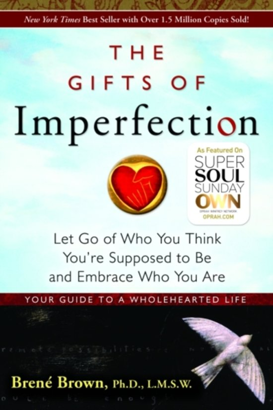 Boek cover Gifts Of Imperfection, The van Brené Brown (Paperback)